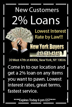 we buy gold nyc and pawn low interest pawn shop rates in nyc