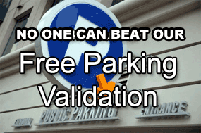 Free parking validation