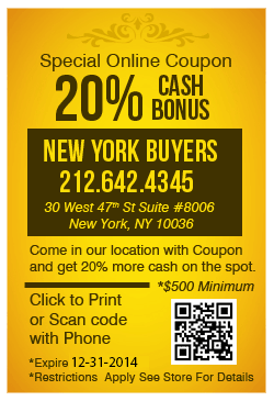 sell gold coupon